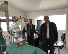 Con el Prof. Josep Amat