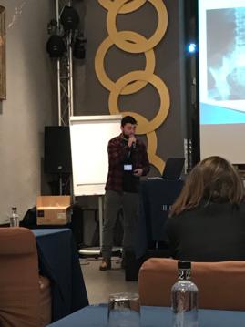 El Dr. G Morales en su Conferencia sobre Instrumental y Soporte Tecnológico en el manejo de la LU