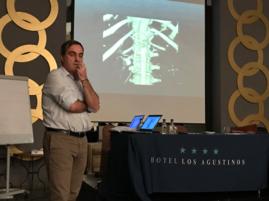 El Dr. G Garmendia, Coordinador de la 11ª Reunión MIR Urología de la Sociedad Vasca de U