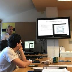 Preciosa charla sobre la Historia Médica de Ordizia, dada hoy por el Dr. Juan Carlos Garmendia