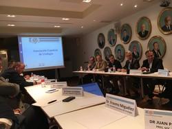 Reunión Plenaria Junta Directiva Asociación Española Urología. Madrid 28.4.16